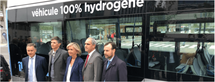First hydrogen powered bus deployed in France