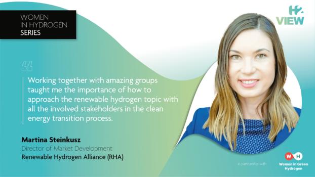 Women in Hydrogen: Martina Steinkusz