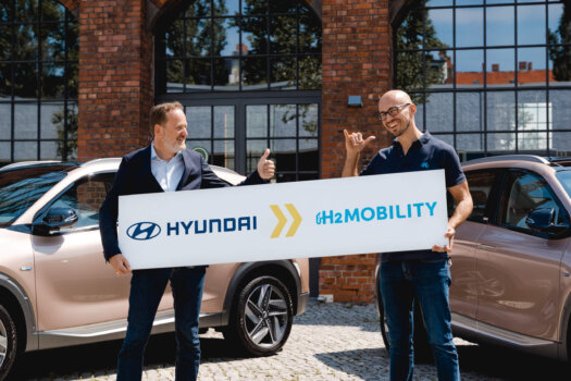 Hyundai becomes a shareholder in H2 Mobility