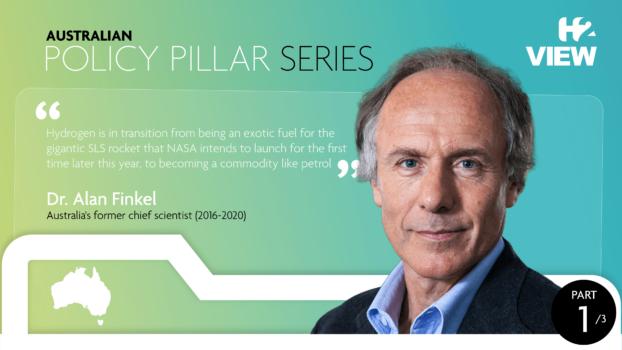 The Policy Pillar – Australia: Dr. Alan Finkel on Australia's hydrogen ambitions