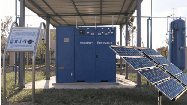 UNDP successfully completes acceptance test of Angstrom Advanced's solar-to-hydrogen project