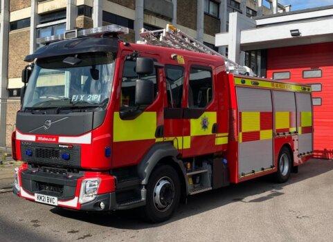Oxfordshire, UK unveils plans for hydrogen-fuelled fire engines