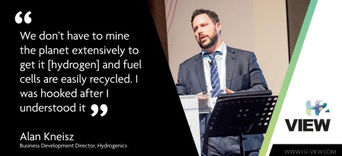 Hydrogen energy: I was hooked after I understood it