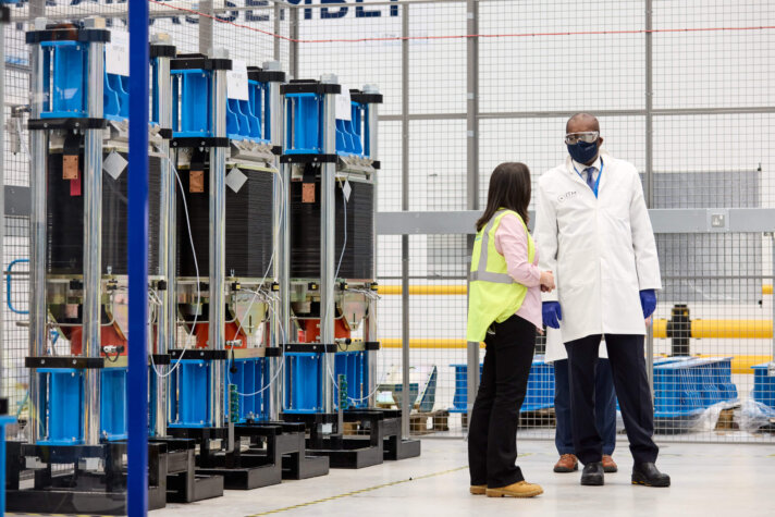 UK Energy Minister officially launches first-ever hydrogen strategy from ITM Power's gigafactory in Sheffield