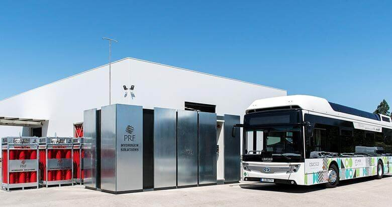 DRHYVE pioneers portable hydrogen refuelling in Portugal