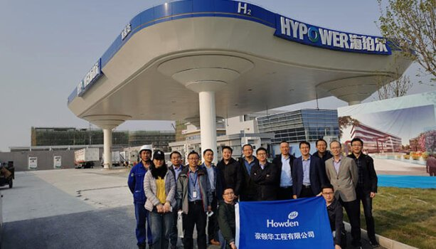 Howden supplies compressors to the world's largest hydrogen refuelling station in China