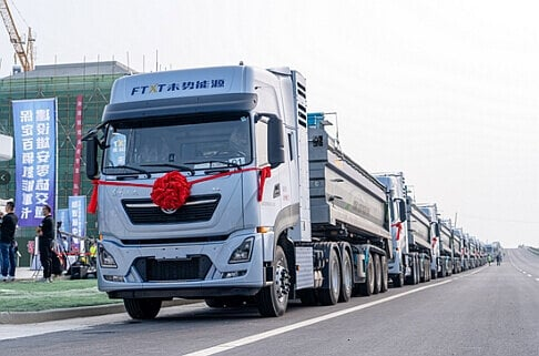 Great Wall Motor delivers 100 hydrogen trucks in China