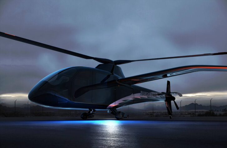 First glimpse at a hydrogen-powered helicopter