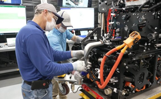 Toyota increases fuel cell production at Kentucky plant