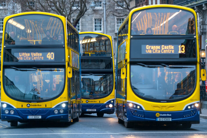 Dublin trials hydrogen-powered buses to decarbonise public transport