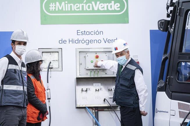 Chile's first green hydrogen stations opened by Anglo American