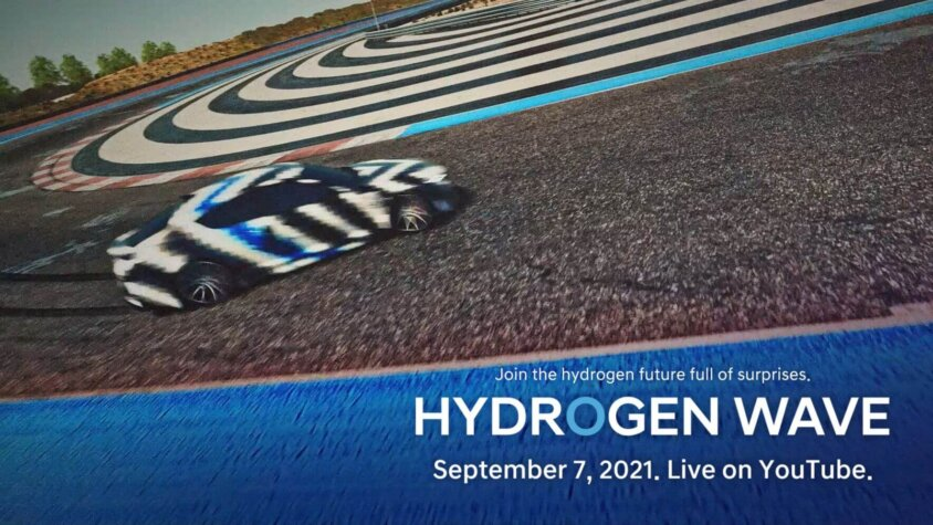 Hyundai teases hydrogen sports car, truck and station ahead of online forum