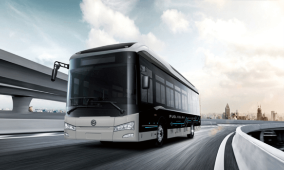 Jiashan county orders 100 hydrogen fuel cell buses
