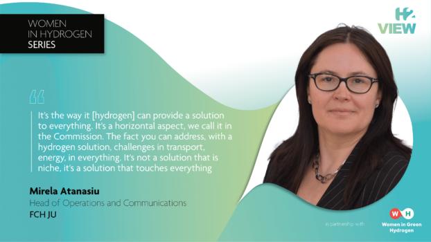 Women in Hydrogen: Mirela Atanasiu