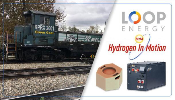 New hydrogen electric locomotive set for Canadian rails