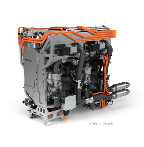 Nikola trucks to feature Bosch fuel cell technologies