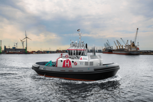 "Port of Antwerp orders ""world first"" hydrogen-powered tug"
