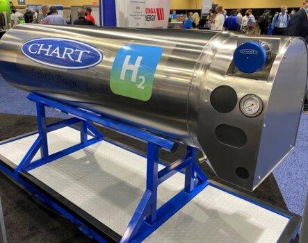 Chart Industries unveils onboard liquid hydrogen fuel system