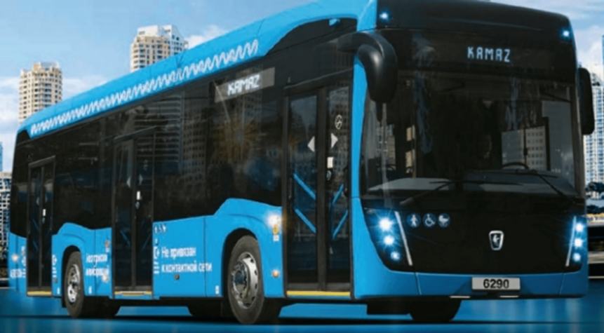 Kamaz hydrogen electric buses set for Russia