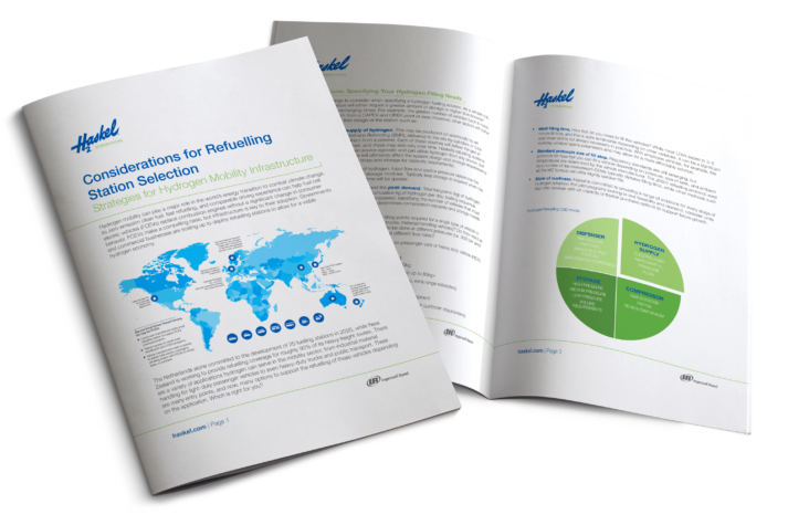 White paper: Haskel publishes guide to the right fit in hydrogen refuelling