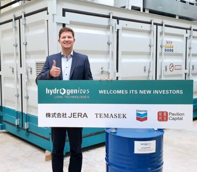 Hydrogenious LOHC Technologies to scale and commercialise its innovative hydrogen storage and transportation technology