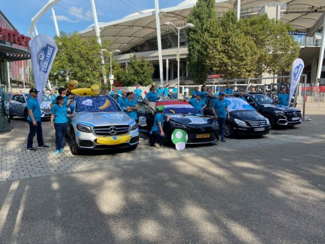 The 24-hour hydrogen rally race commences in Stuttgart ahead of f-cell 2021