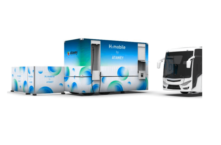 Atawey launches mobile hydrogen station