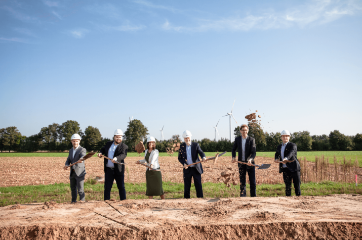 Enapter breaks ground on facility that will mass produce 10,000 green hydrogen electrolysers per month