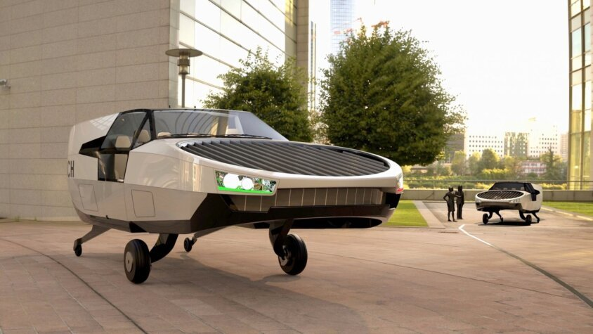 Hydrogen-fuelled flying car moves a step closer to reality