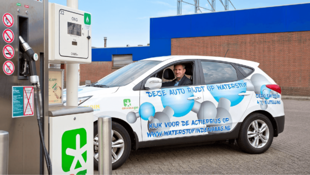 €2.6m for hydrogen stations in the Netherlands