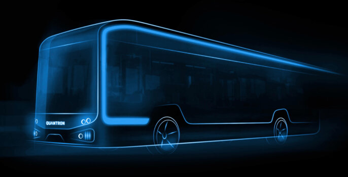 Quantron to release hydrogen fuel cell bus in Spring 2022