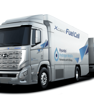 First look at Hyundai Hydrogen Mobility truck