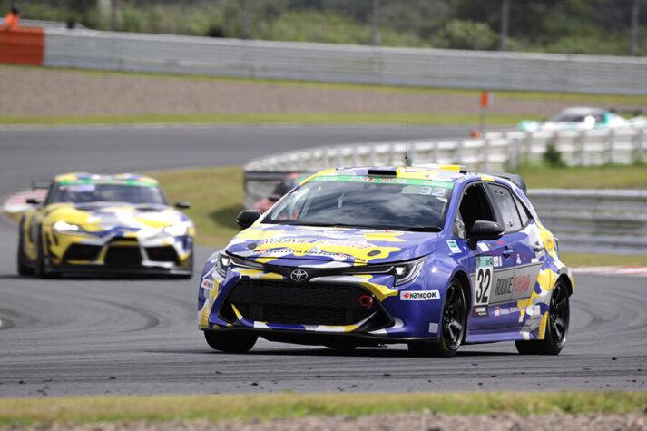 Toyota uses hydrogen-powered Corolla at Super Taikyu Series 2021