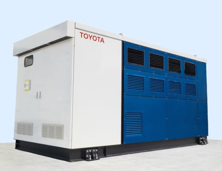 Toyota installs fuel cell generator at its Honsha Plant in Japan