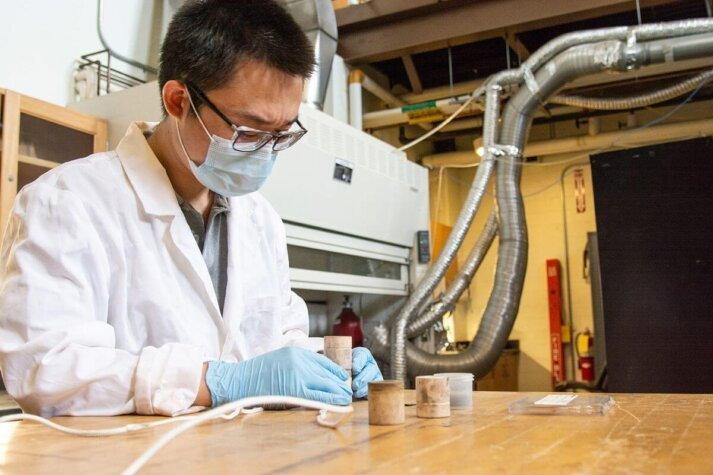 WVU focuses on green hydrogen production with solid oxide electrolysis cells