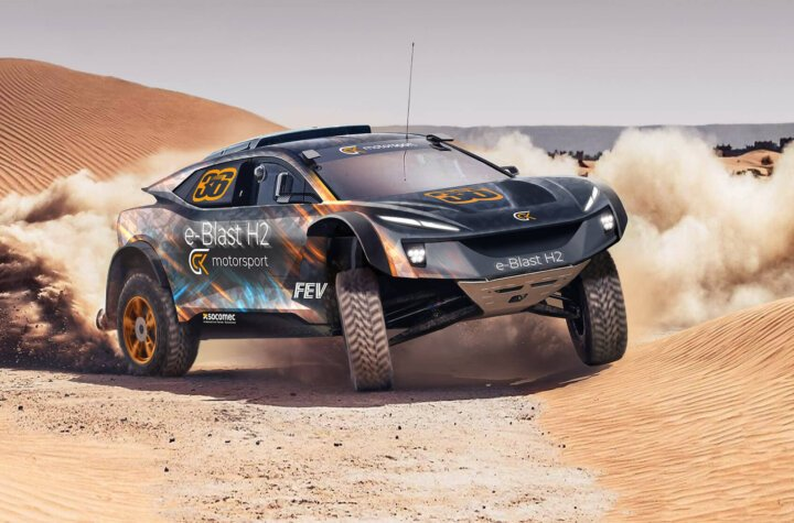First look at GCK Motorsport's hydrogen-powered cross-country racer
