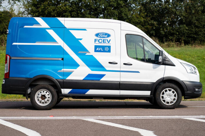 Ford teams up with AVL to develop a hydrogen fuel cell powered Transit van