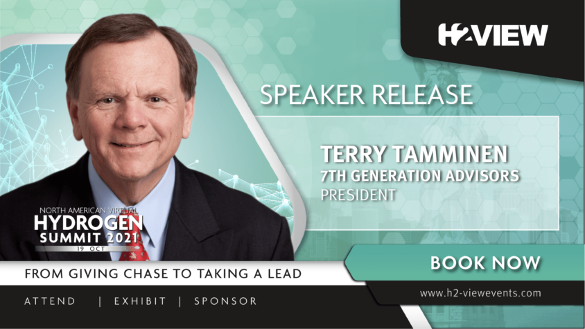Terry Tamminen joins speaker line up for H2 View's North American Virtual Hydrogen Event