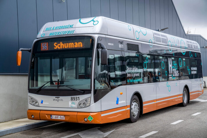 Brussels to add a new hydrogen bus to its roads