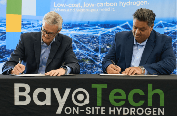BayoTech accelerates hydrogen production with advanced automation technologies, software and products