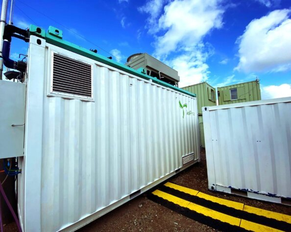 Cadent welfare cabins now powered by hydrogen