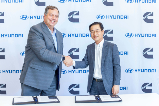 Hyundai and Cummins to collaborate on hydrogen fuel cell technology