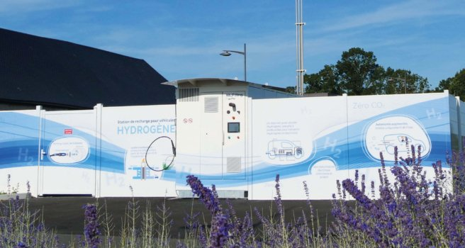 McPhy inaugurates hydrogen station in Sorigny