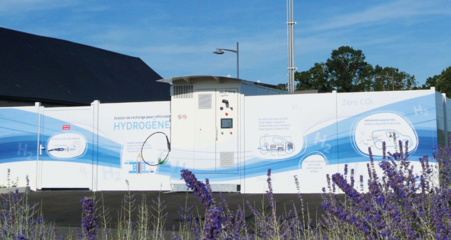McPhy inaugurates hydrogen station