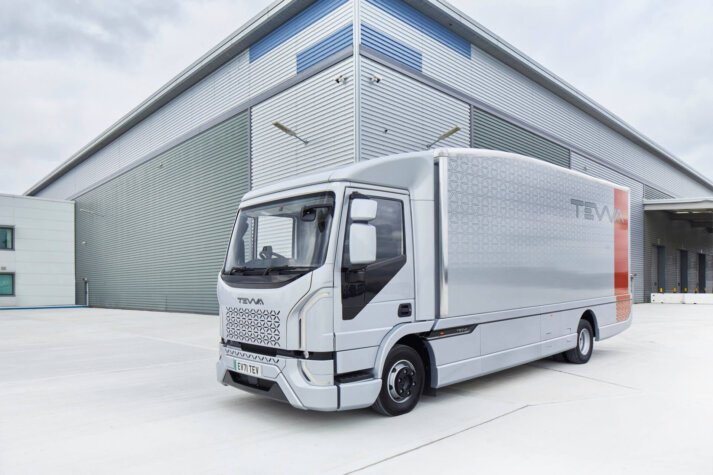 Tevva secures APC funding to support development of hydrogen fuel cell medium duty trucks