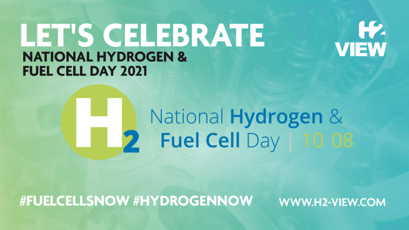 Celebrate National Hydrogen and Fuel Cell Day 2021 with H2 View