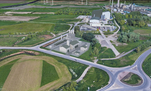Plastic to hydrogen site planned for Ellesmere Port