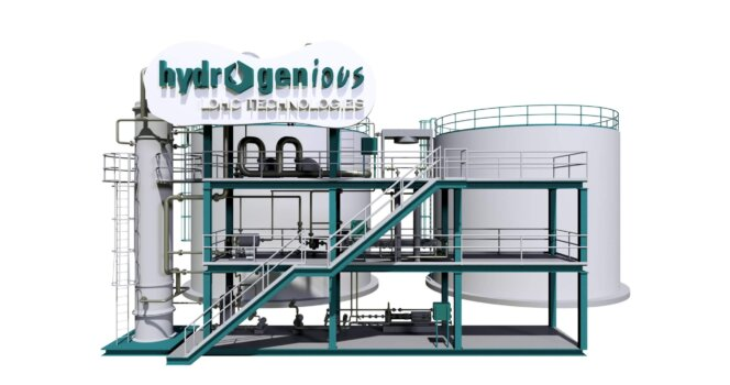 Stationary liquid organic hydrogen carrier plant infrastructure planned for Europe