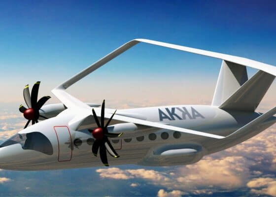 AKKA unveils Green&Fly hydrogen aircraft concept
