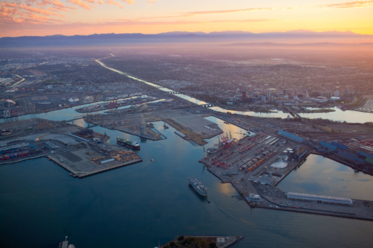 Port of Long Beach showcases hydrogen equipment